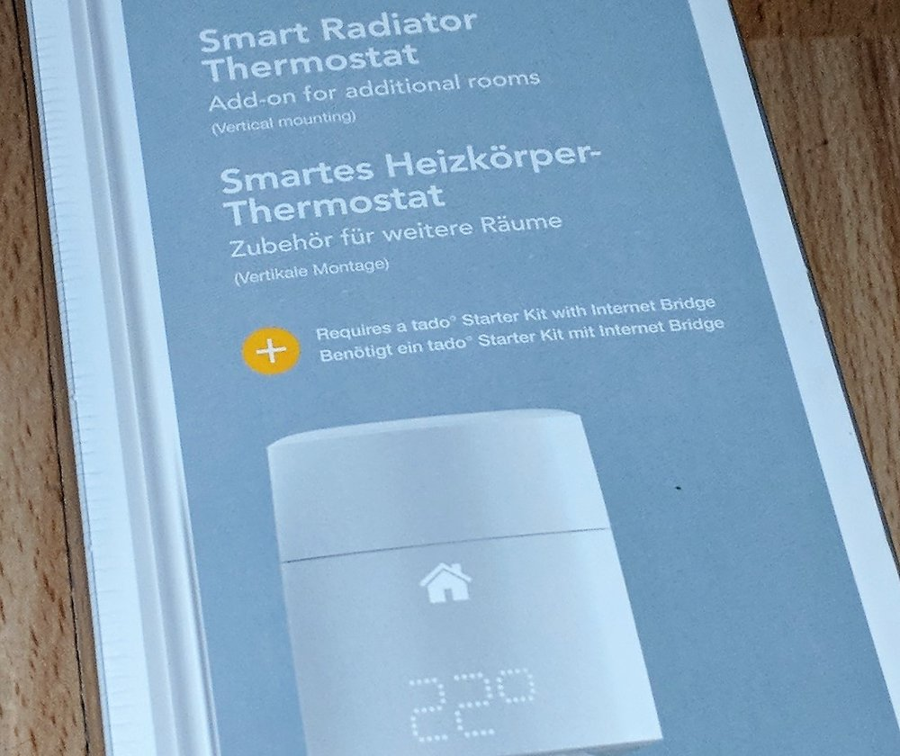 Tado Smart Radiator Thermostat Unboxing — New Home Tricks