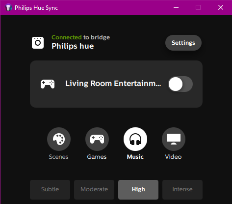 Philips Hue Sync — New Home Tricks