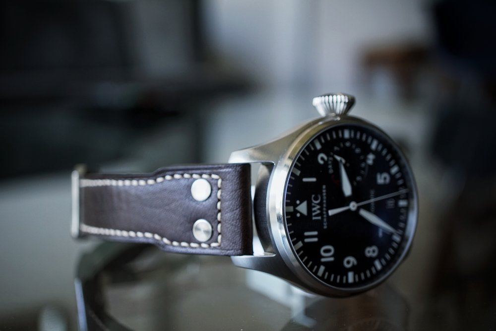 Now better with the buffalo strap from the original BP-5002.