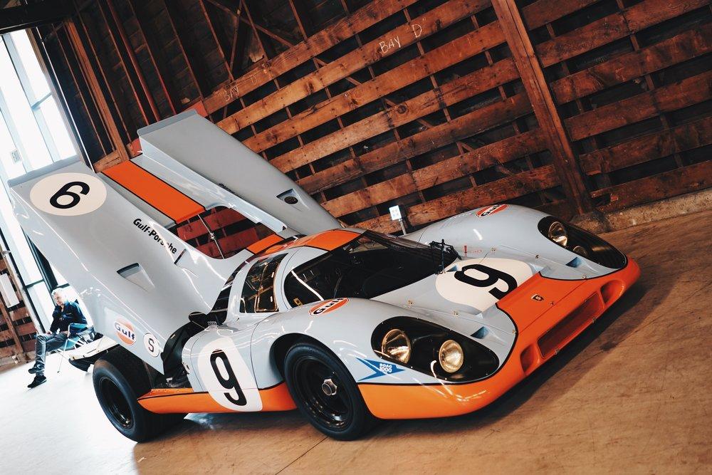 The Iconic Porsche 917 Gulf