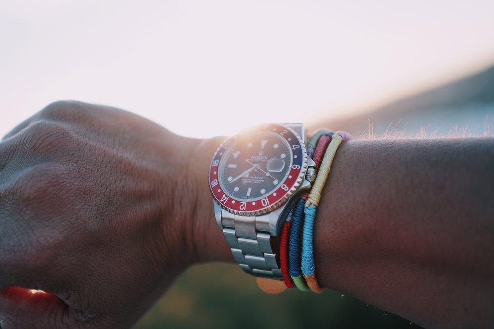 """2005 Rolex GMT Master II ref 16710 """"Pepsi"""""""