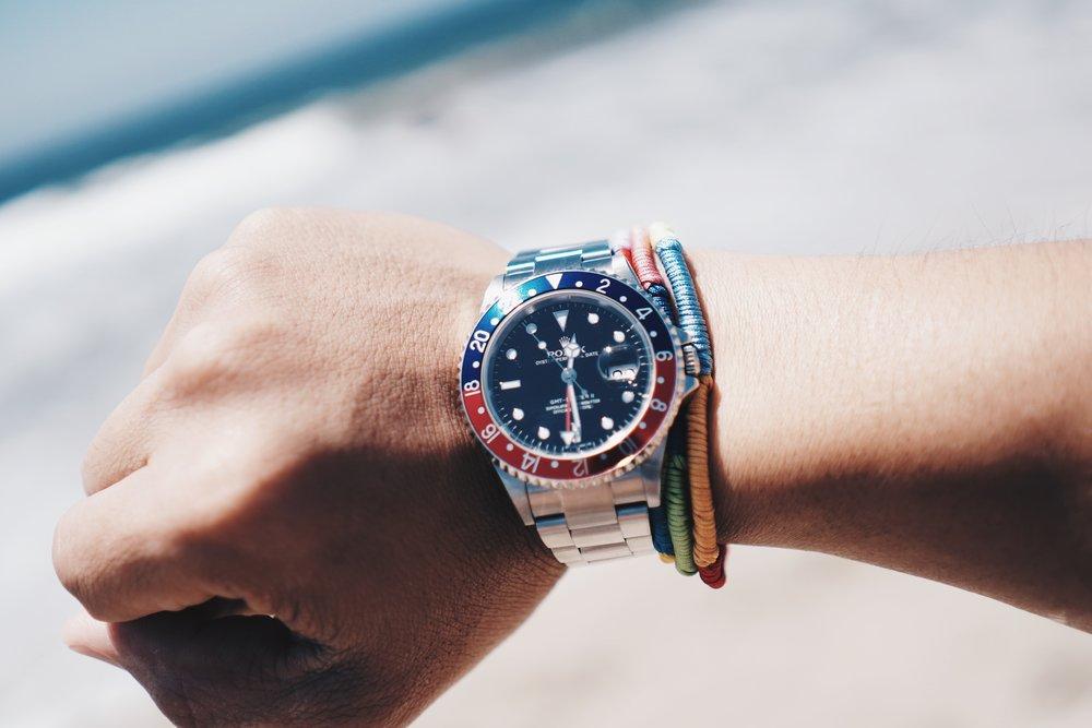 Rolex GMT-Master II ref 16710 with Stick Error Dial