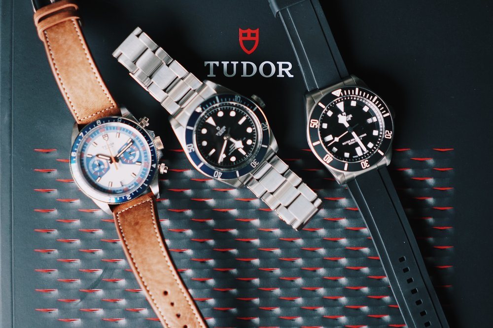 My Tudor Triad.