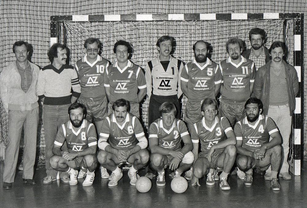 Die Gründungsmannschaft, 1981