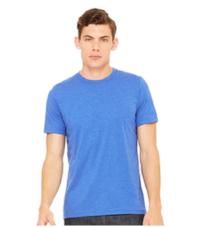 Men's Bella + Canvas T-Shirt  Heather True Royal Blue  $20