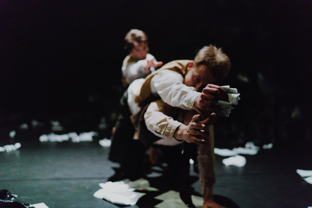 """""""This imaginative, experimental piece keeps the viewer gripped and entertained."""" - — ★★★★ Three Weeks"""
