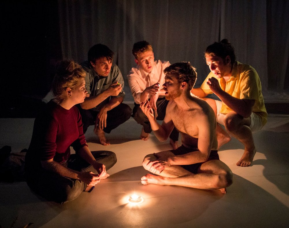 """""""a beautiful piece of physical theatre which should be highly commended"""" - — ★★★★ Adele Cooke, Edfringe Review"""
