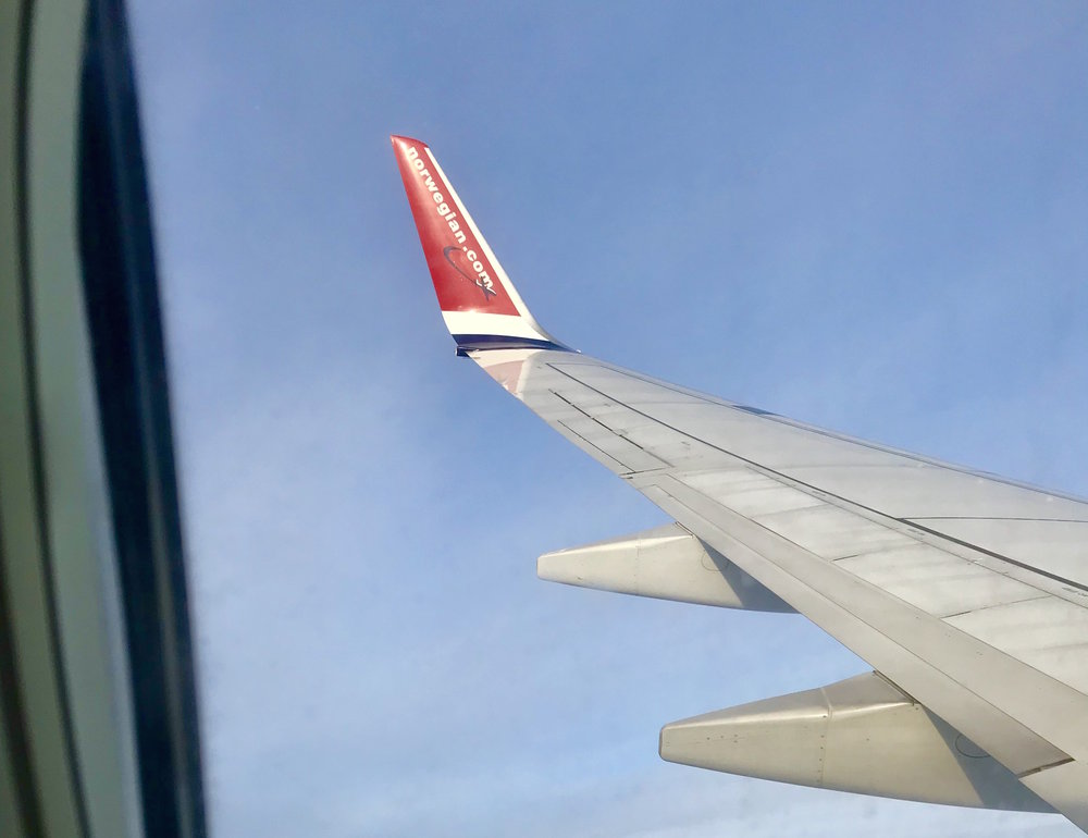 Med kursen mot Bardufoss.
