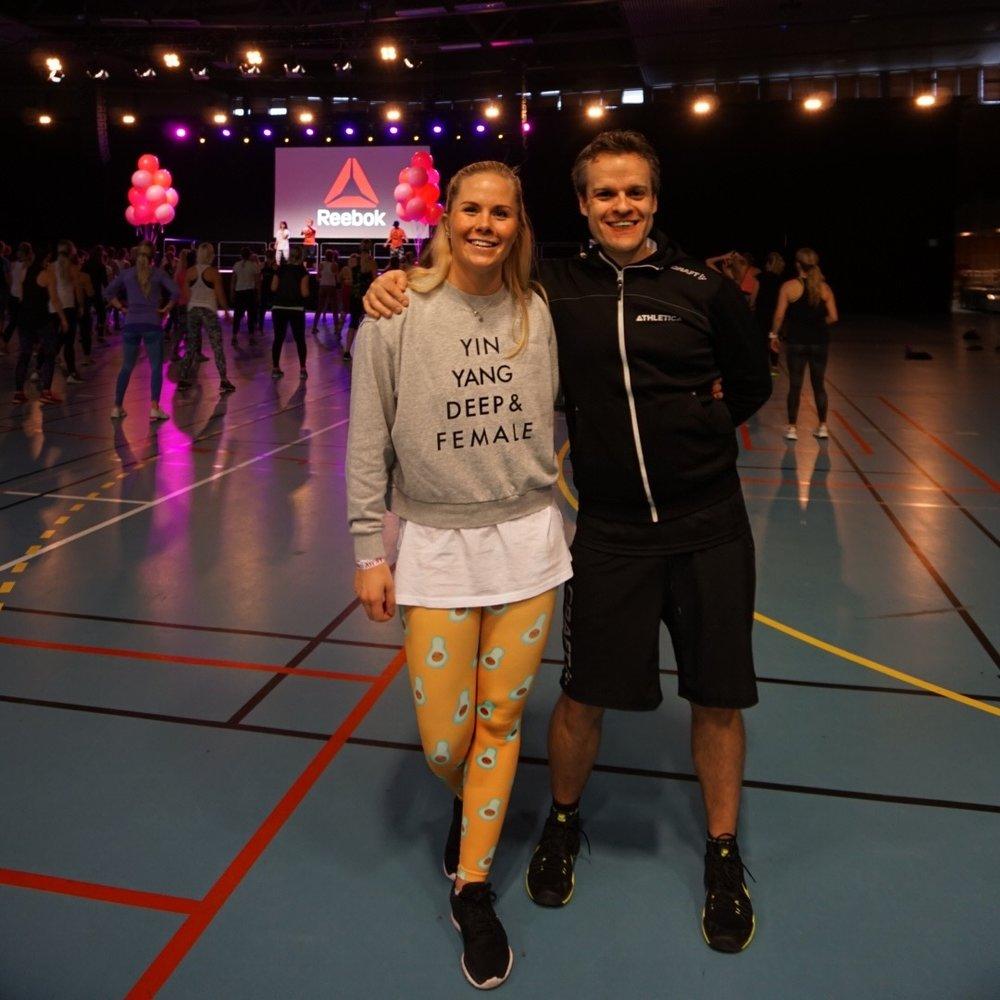 Min gode kollega fra SiO Athletica, Svein Olav Sturlason, og meg :)