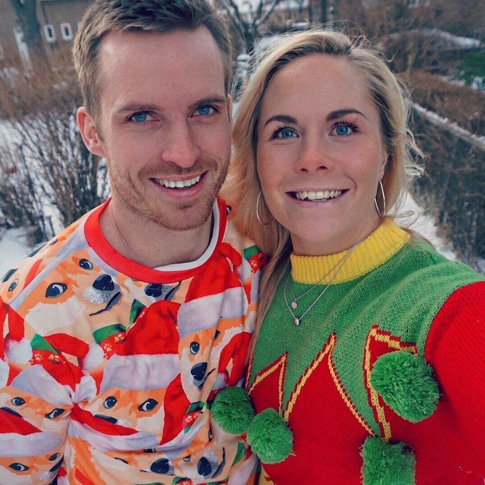 Både Eivind og jeg gikk helhjertet inn for anskaffelse av årets julegensere 2017!