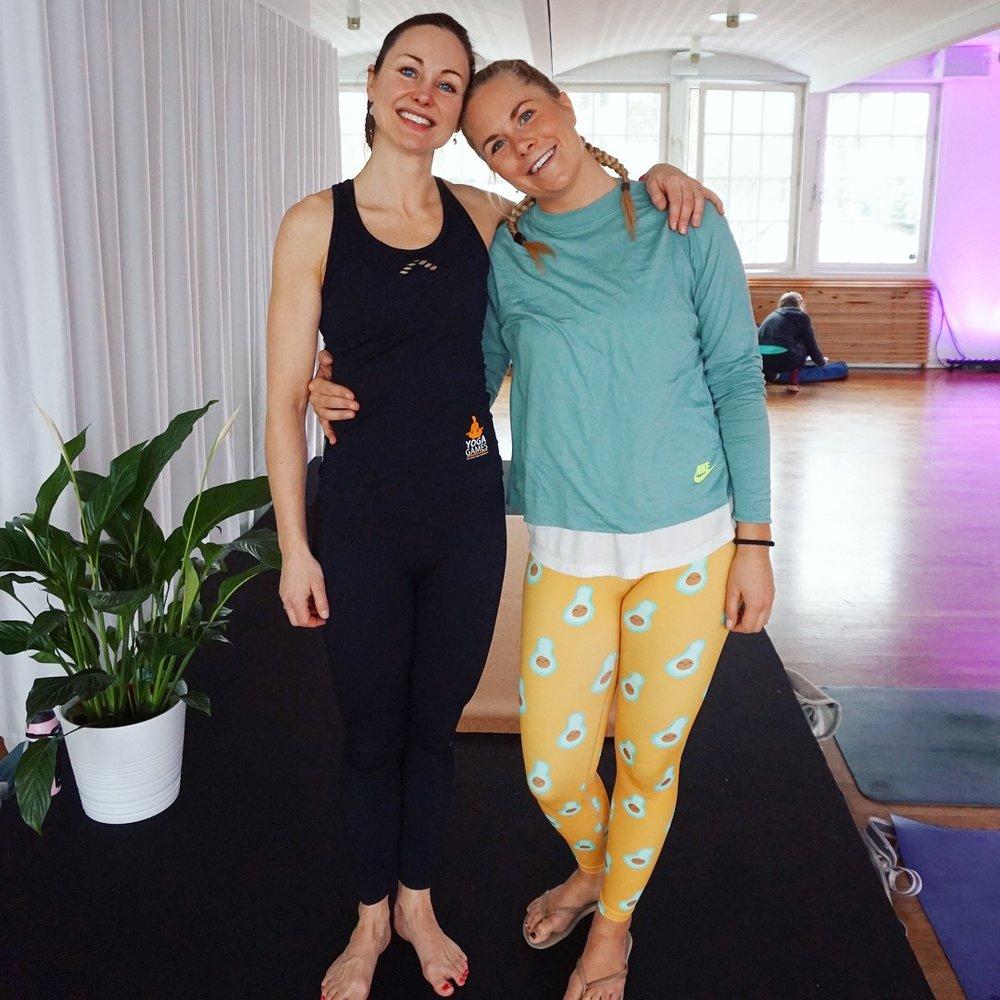 Takk til Frøydis Hansvik for en herlig Global Yoga Core Flow.