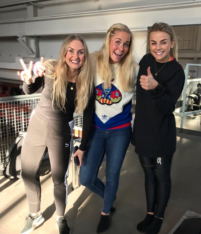 Sammen med Silje Thorstensen og Pia Seeberg fra Treningspodden :)