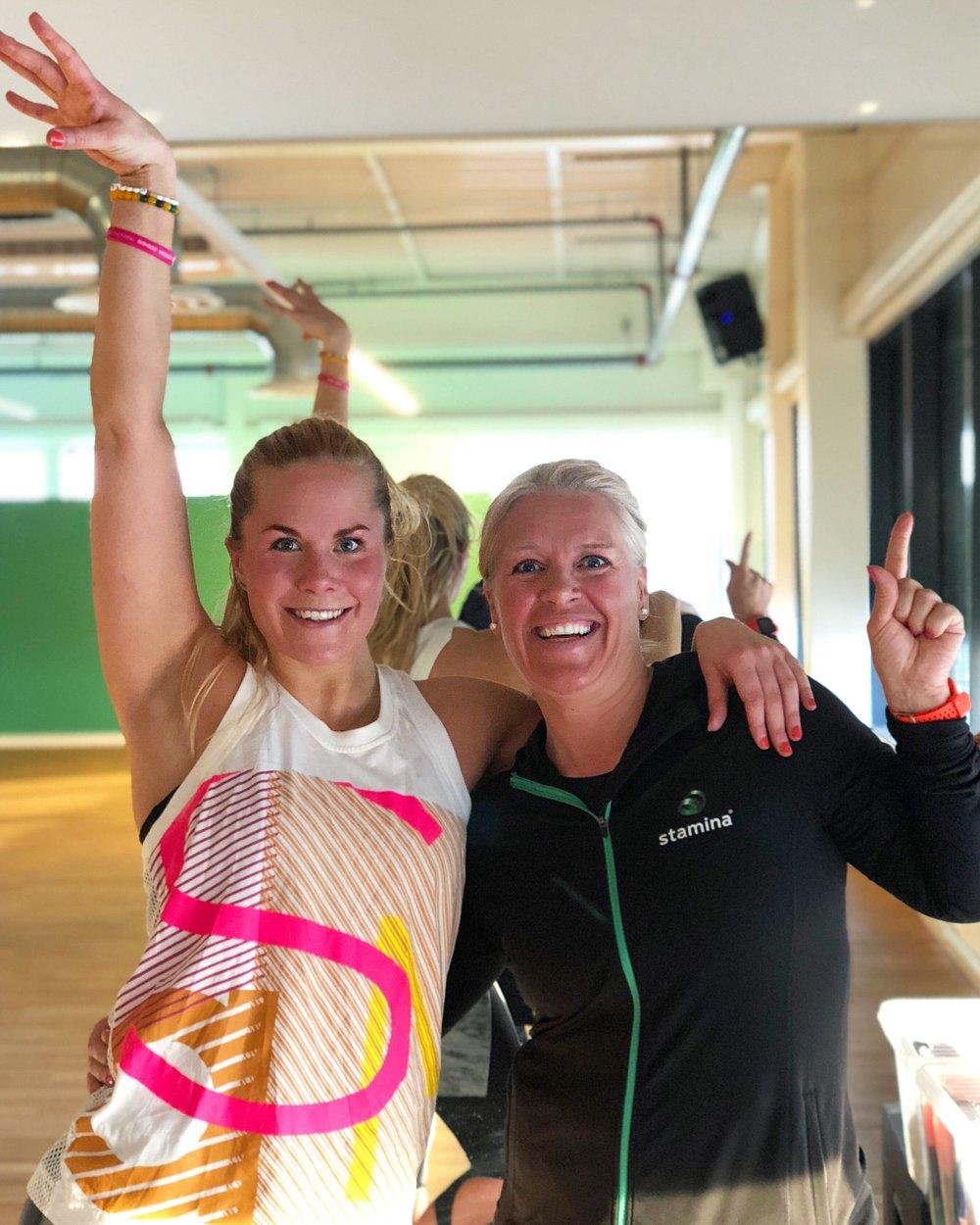 Tusen takk til sportslig leder, Therese Ellingsen, for at jeg fikk komme på besøk!