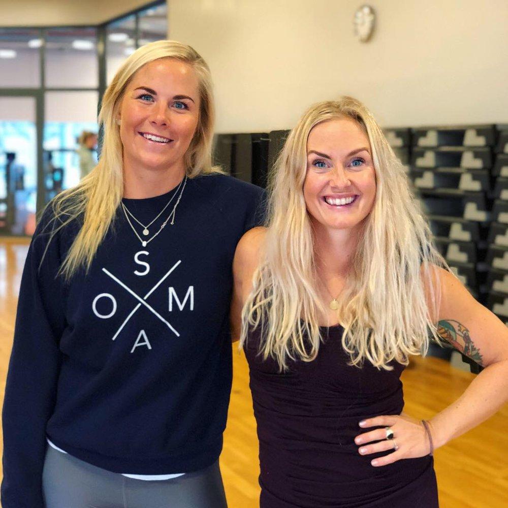SOMA MOVE-kurs for 3T-kjeden i Trondheim, sammen med Silje Thorstensen.