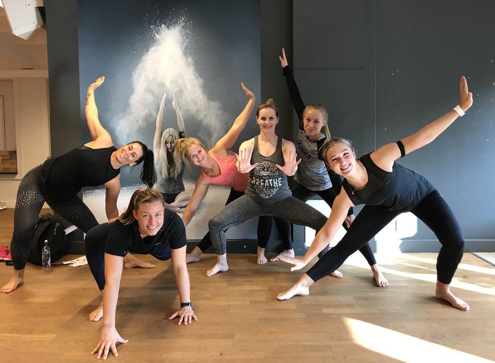 SOMA MOVE-kurs  i Oslo, ved Myrens Sportssenter. Velkommen inn i SOMA-familien :)