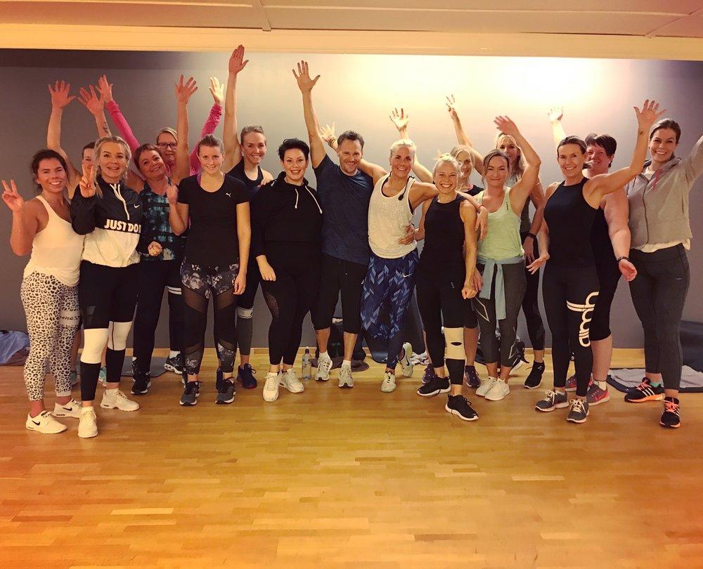 Fra inspirasjonsdag for ansatte og medlemmer ved Spenst Årnes, på selveste #gruppetreningsdagen :)