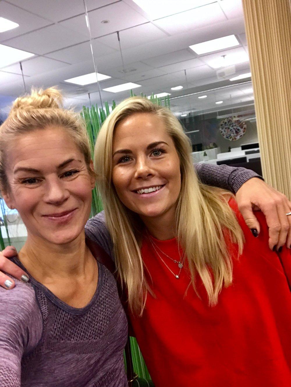 Sammen med fine Cecilia Gustafsson <3