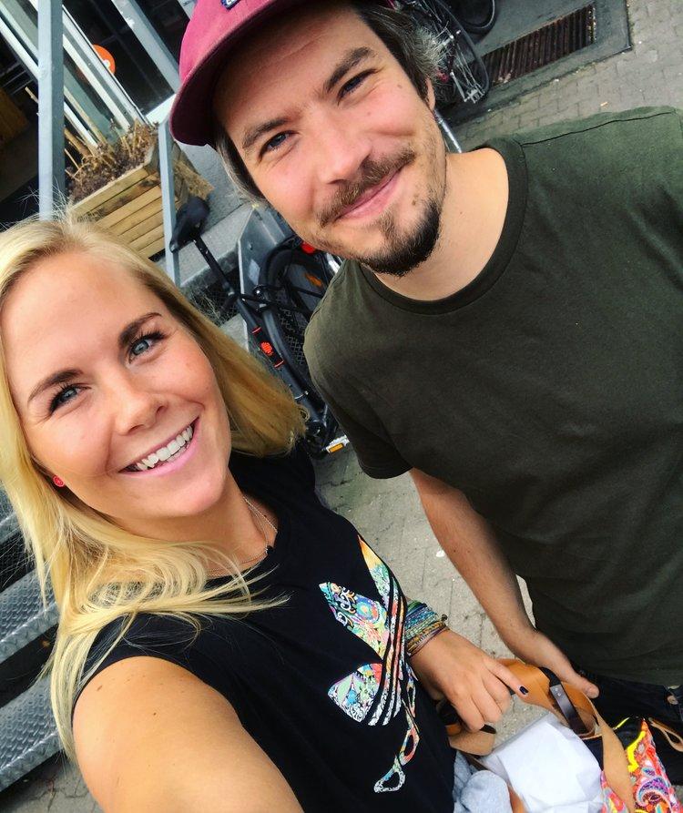 Bilde fra da vi begynte å jobbe med inspartum for alvor i Berlin i sommer! Sjekk ut Per-Magnus egen nettside:  https://www.per-magnus-roenning.com