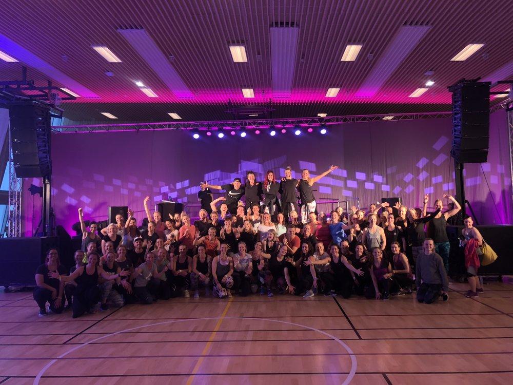Et lite knippe av alle de fantastiske deltagerne som var med på JUST DANCE!