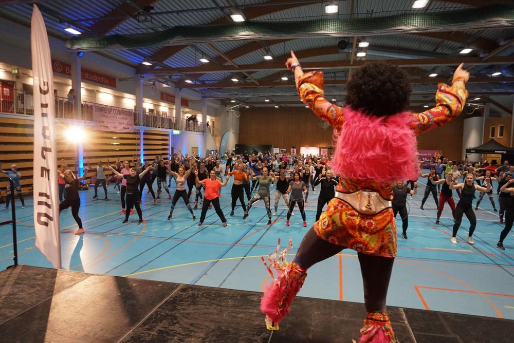 Foto: Helena Wian, fra  ShapeUp Convention 2019