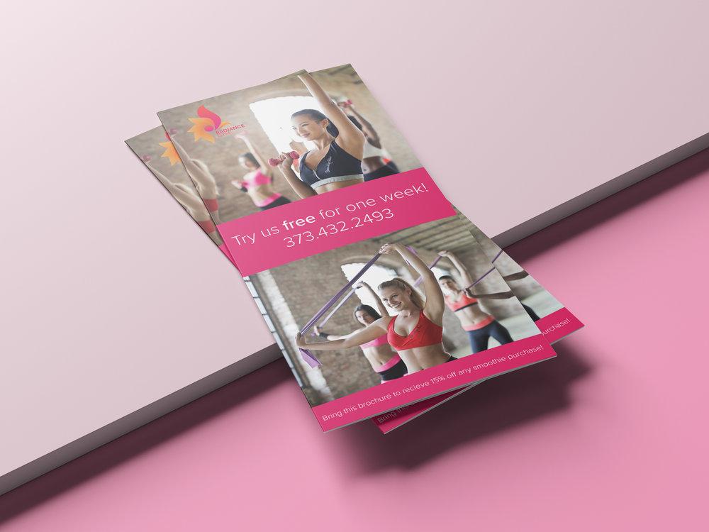 Fitness Brochure Mockup
