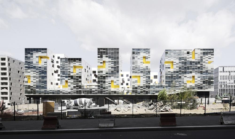 Apartment Blocks in Nanterre by X-TU | Luc Boegly