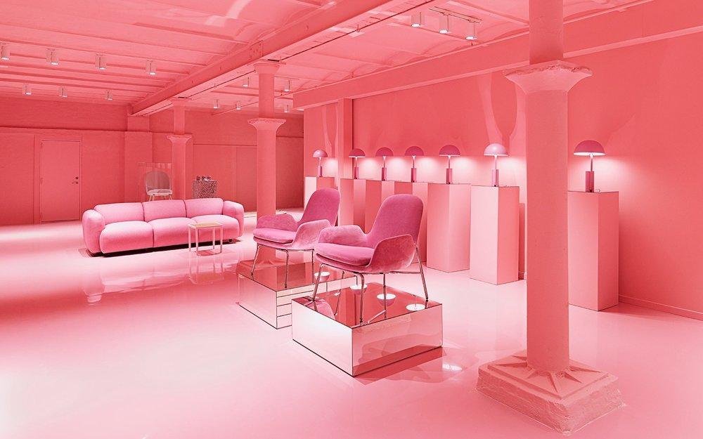 Normann Copenhagen Showroom at Østerbrogade 70