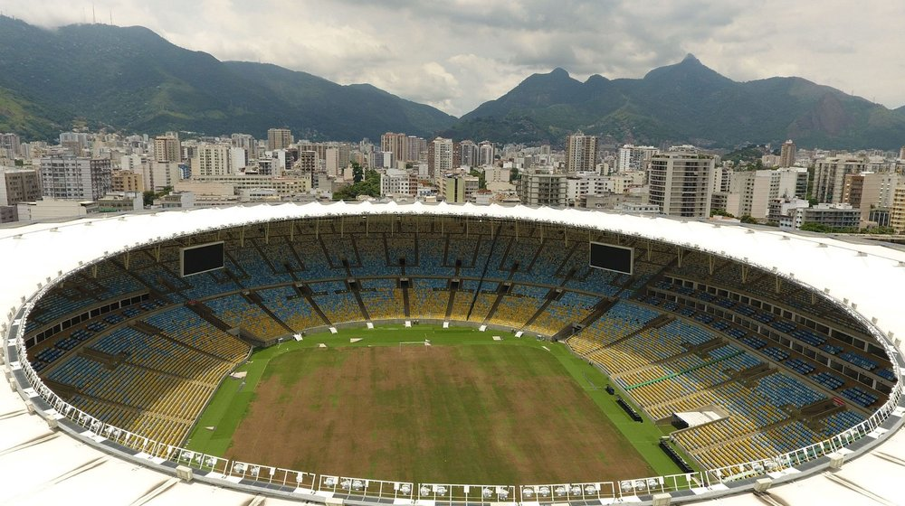 The famed Maracana Stadium has gone to waste |  VANDERLEI ALMEIDA/AFP/Getty Images