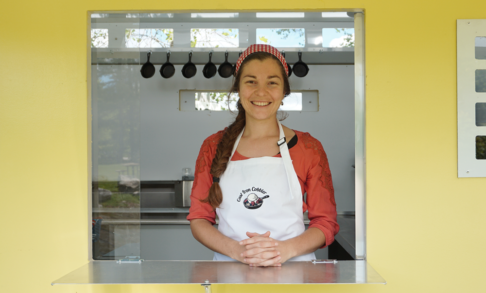 Who Are We? - We are a new food truck serving delicious desserts made with 100% American-Made ingredients, and using local produce. In addition to our food truck, we also offer event and party catering! We are located in the Lakes Region of Southern Maine.Learn More About Our Catering