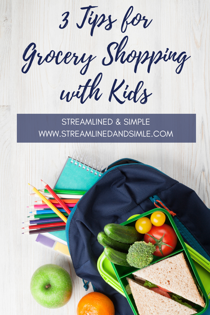 3 Tips for Grocery Shopping with Kids