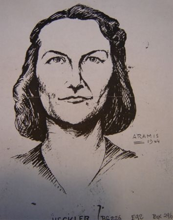 "The Nazis were intent on capturing the ""limping lady"" and posted drawings of her through the countryside."
