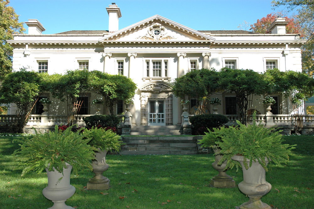 Liriodendron Mansion is located on the outskirts of the Town of Bel Air and currently functions as an arts and event venue.