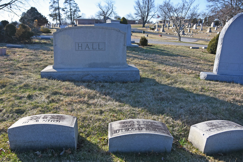 Virginia Hall met her husband Paul Goillot while they were both active in the French Resistance. They are buried in Druid Ridge Cemetery in Pikesville.