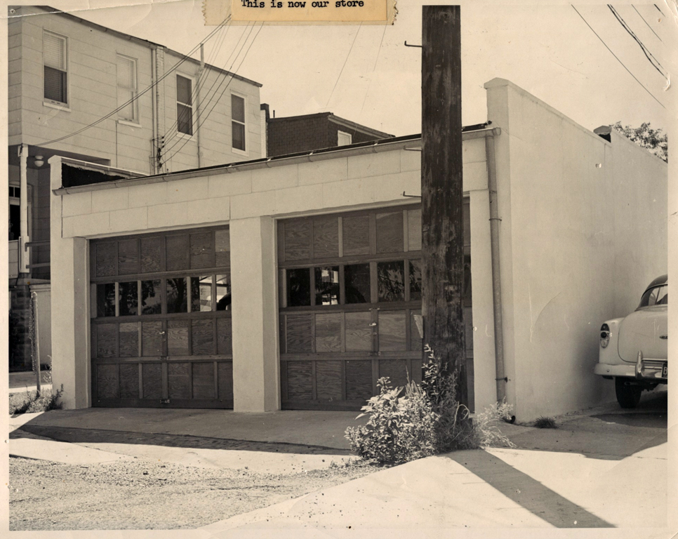 Rheb's Candies has never strayed from its roots. After years selling candy in Baltimore's public market stalls, they renovated the garages behind their Wilkens Avenue home and candy making business to open a retail space. Photo courtesy of Rheb's Candies.