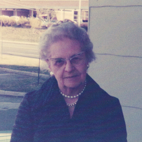 Esther Rheb, date unknown. Photo courtesy of Rheb's Candies.