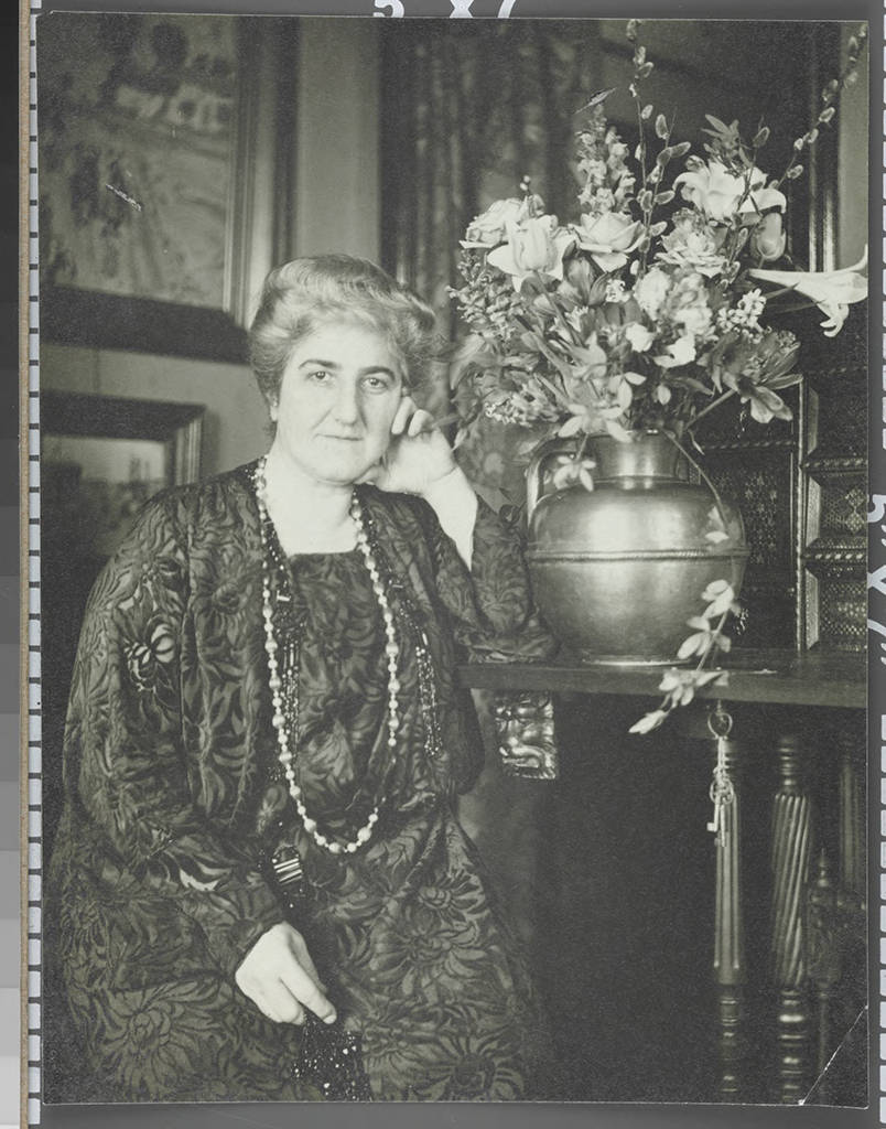 Etta Cone hoped that her massive art donation to the Baltimore Museum of Art would bring awareness of French modern art to the people who lived in the city. Etta died on August 31, 1949.   Etta Cone in her apartment at the Marlborough Apartments, Baltimore, Maryland, Circa 1930 - 1940. Claribel and Etta Cone Papers, Archives and Manuscript Collections, The Baltimore Museum of Art. EC.1