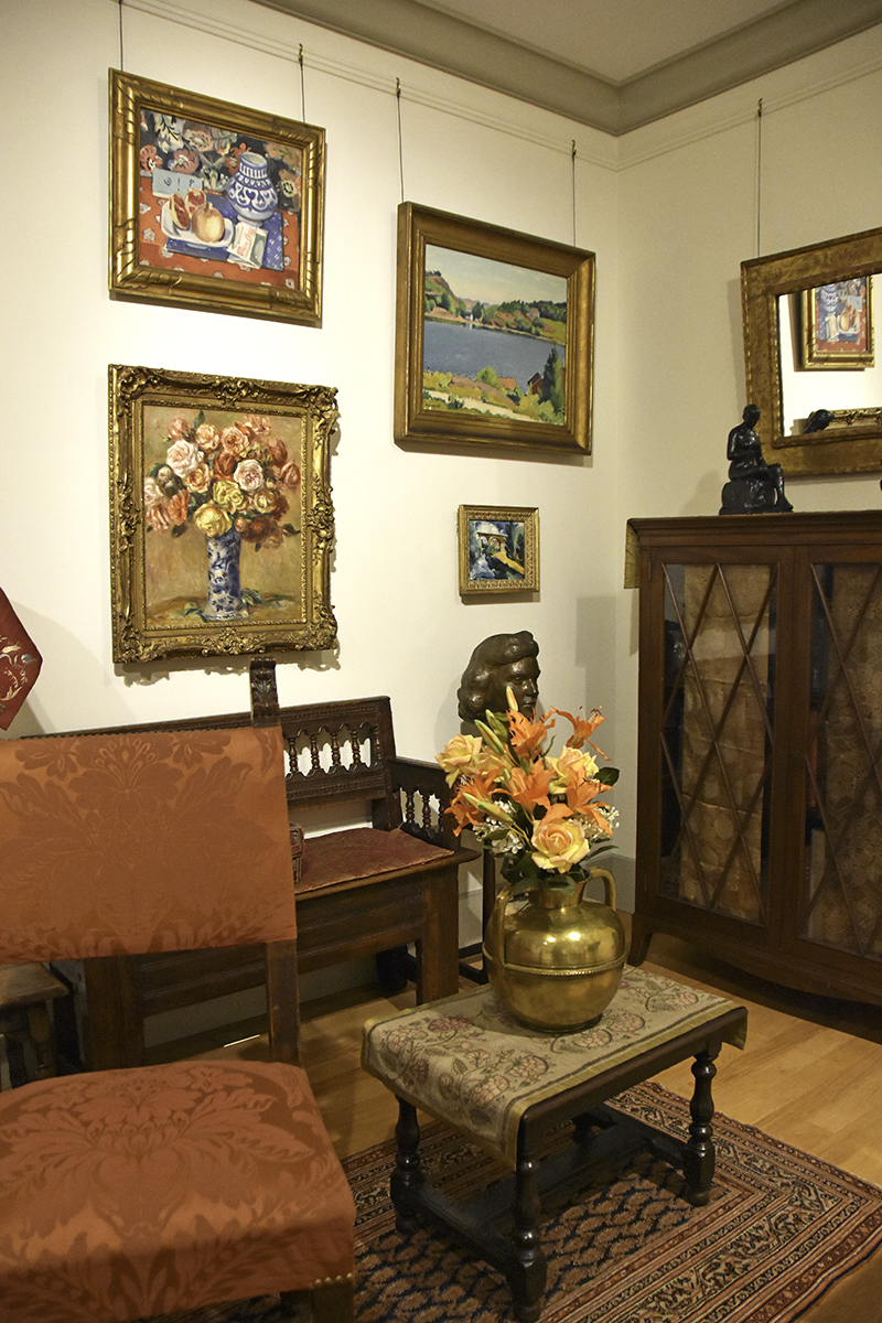 The Baltimore Museum of Art's Cone Collection contains a recreated scene from the Cone sisters' apartments. Photo by Kathi Santora