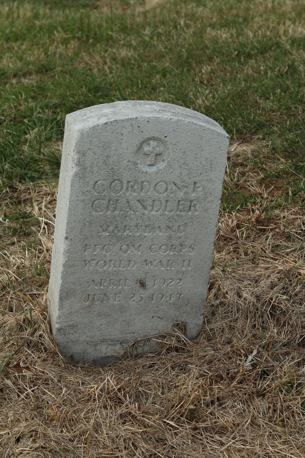 Pfc. Gordon I. Chandler