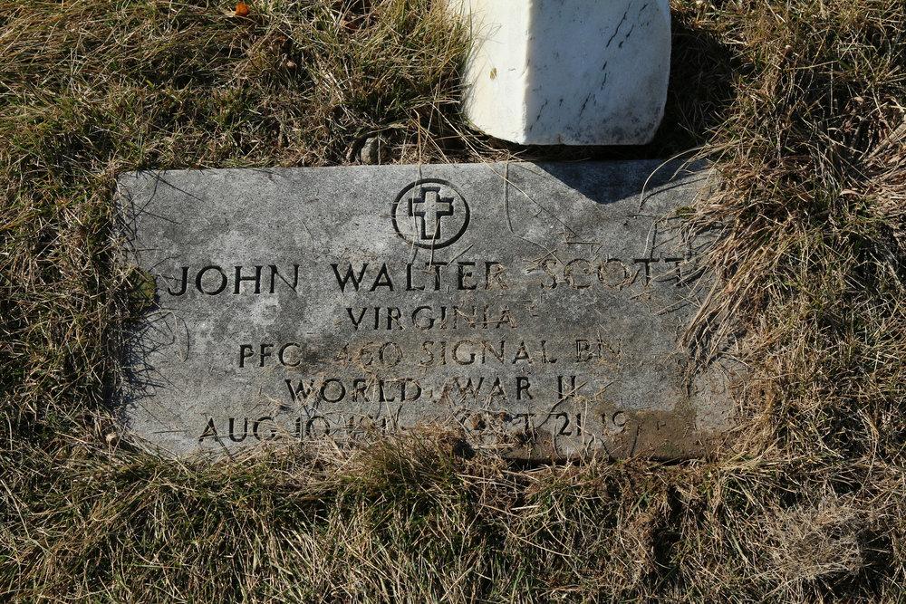 Pfc. John W. Scott