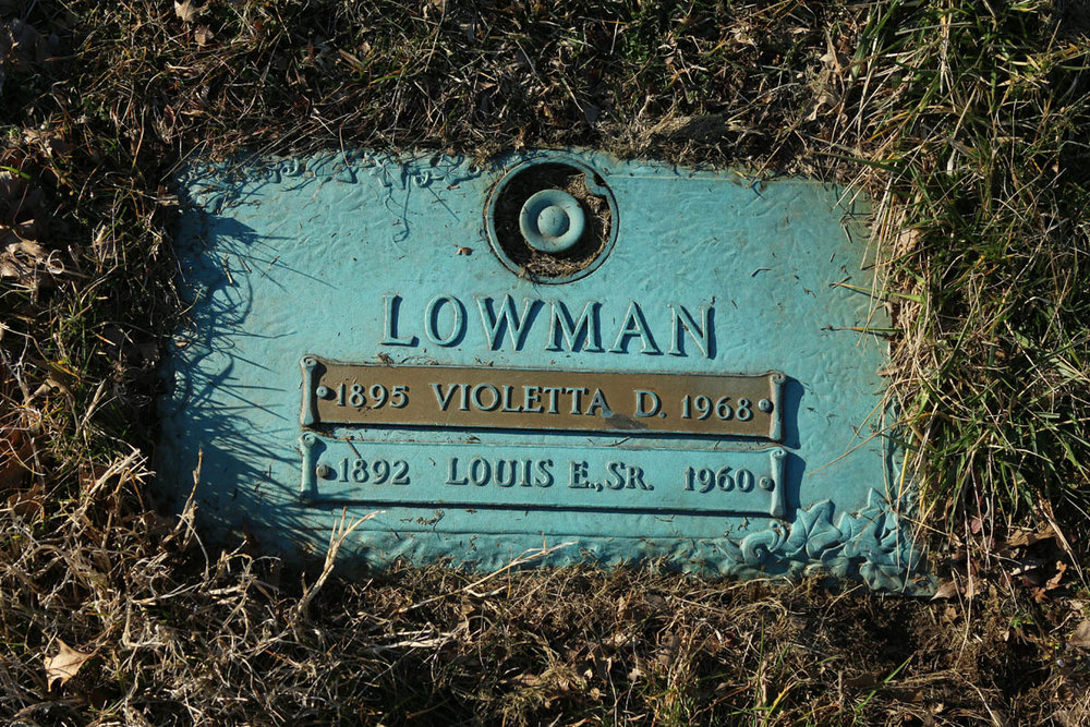Louis Lowman, a longtime dining car waiter on the B&O's  Capitol Limited , rests in Arbutus Memorial Park.
