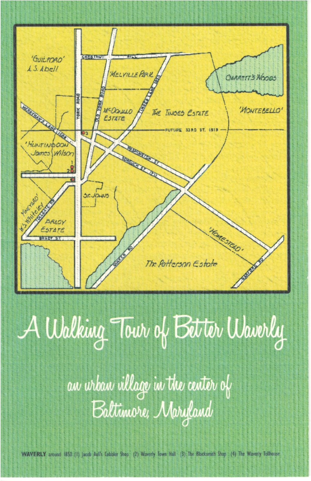 A Walking Tour of Better Waverly
