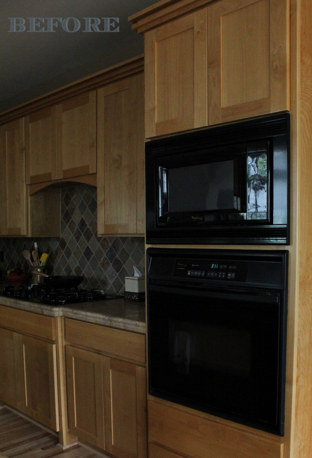 BEFORE: cabinetry