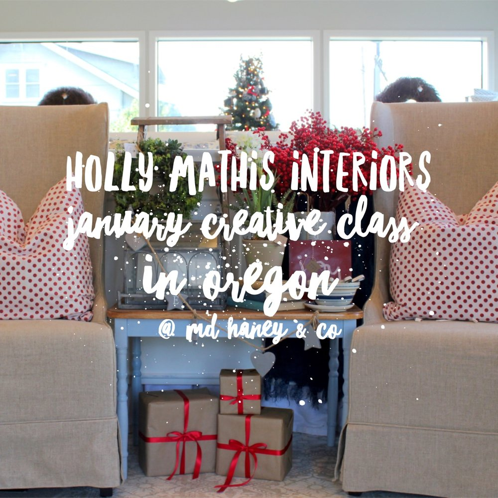 I Am So Excited That Holly Mathis Is Coming To Our Little Shop To Teach One  Of Her Creative Classes! I Had The Pleasure Of Visiting Holly In Texas And  ...