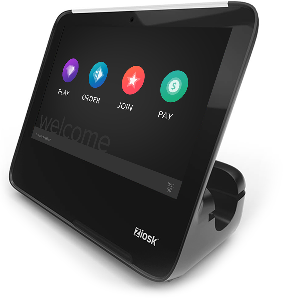 Why Choose Ziosk? - We created the tabletop tablet industry.We lead the market and continually innovate to refine and improve our platform, our products and our technology.With our breadth of services, scale and experience, there is no better partner to take your restaurant business to the next level.