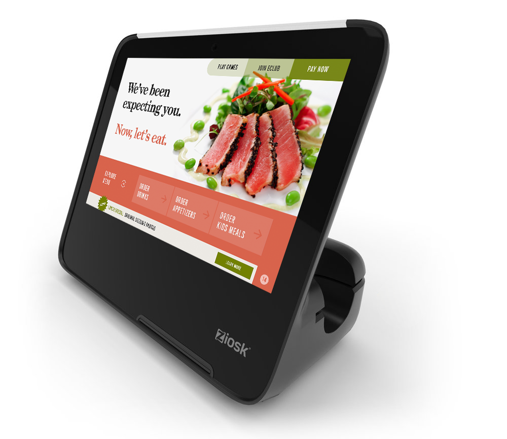 Rebuilt.Reimagined.Redefined. - Form meets function.From the company that brought you the first-ever entertainment, ordering and pay-at-the-table touchscreen for the restaurant market.