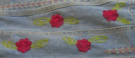 Pakpak Araguring designs on our Sikag-Sikag Denim Jacket