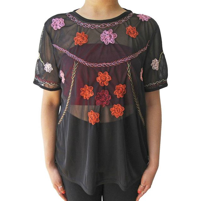 📣SALE ALERT📣  In honor of our designer Stephanie and our embroidery designer Regina's birthdays, we're  giving y'all 30% off your order thru the end of November with code SCORPIOSEASON! Shown here: our Sinumbrahan Mesh Tee, available in a bunch of different patterns, check them out at haliya.co now ❤