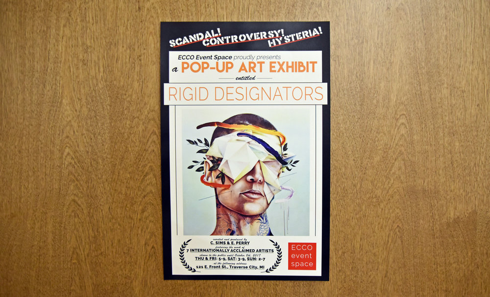 Above: promotional poster featuring art by Andy Kittmer