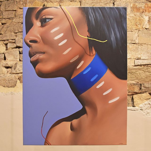 "'Tremolo' ; Luke Mack ; oil on canvas ; 30"" x 40""⠀ .⠀ .⠀ .⠀ .⠀ .⠀ .⠀ .⠀ .⠀ .⠀ .⠀ .⠀ .⠀ .⠀ .⠀ @lukemack9 ⠀ #artforsale #instaart #hereweare #gallery #oiloncanvas #detroitart #figurativeart #collector #exhibit #traversecity #fineart #collector #exhibit #traversecity #fineart #interiordesign #painting #artist #contemporaryart #artdealer #creative #artwork #eccoeventspace"