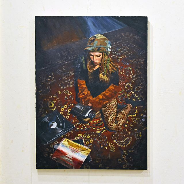 "'Adaptation is the key to survival' ; Dylan Evans Weiler ; oil on linen ; 25.6"" x 35.4""⠀ .⠀ .⠀ .⠀ .⠀ .⠀ .⠀ .⠀ .⠀ .⠀ .⠀ .⠀ .⠀ .⠀ @dylanevansweiler #dylanevansweiler⠀ .⠀ #artforsale #instaart #hereweare #gallery #oilonlinen #yooperart #figurativeart #collector #exhibit #traversecity #fineart #collector #exhibit #traversecity #fineart #interiordesign #painting #artist #contemporaryart #artdealer #creative #artwork #eccoeventspace #interlochenartsacademy"